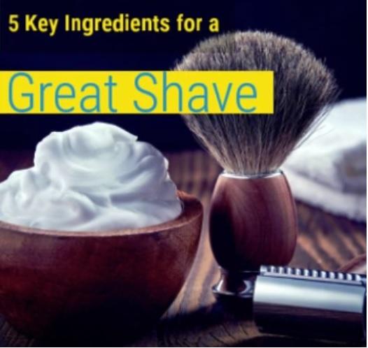 Essential oils shaving cream diy recipe